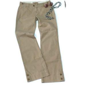 BKE Buckle Surplus Fit Chino Pants 30 Khaki Women